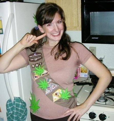 Halloween Weed Brownie
