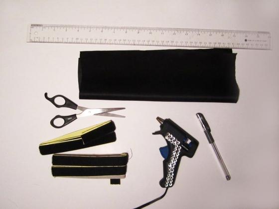 DIYFringeCuff supplies
